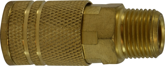 Male Pipe Coupler-Brass