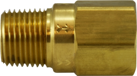 M x F 500 PSI Check Valve with Viton Seals