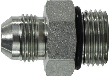 5//16-24 JIC Thread x 5//16-24 JIC Thread Midland 2403-2-2 Straights Steel Flare 37degree Tube Union