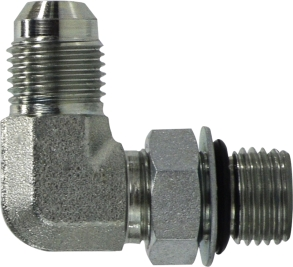 JIC to O-Ring Elbow Connector