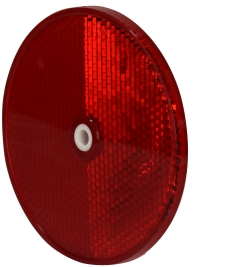 PLASTIC RED REFLECTOR