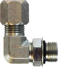 FL O Ring Elbow Connector